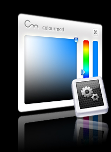 ColourMod - Dashboard Widget Screenshot
